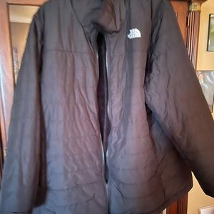 North face Mossbud reversible fleece jacket